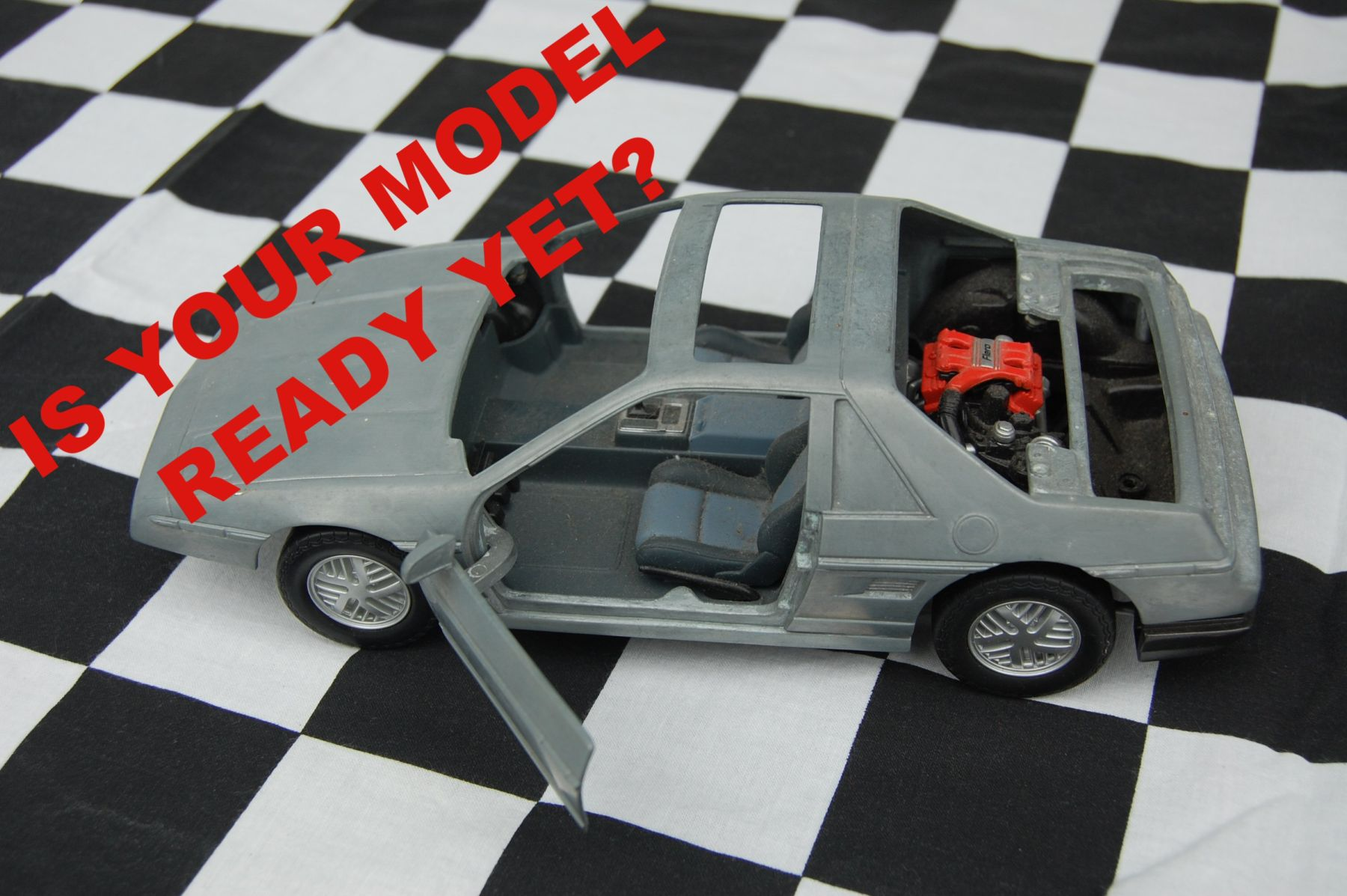 Is Your Fiero Model Ready Yet?