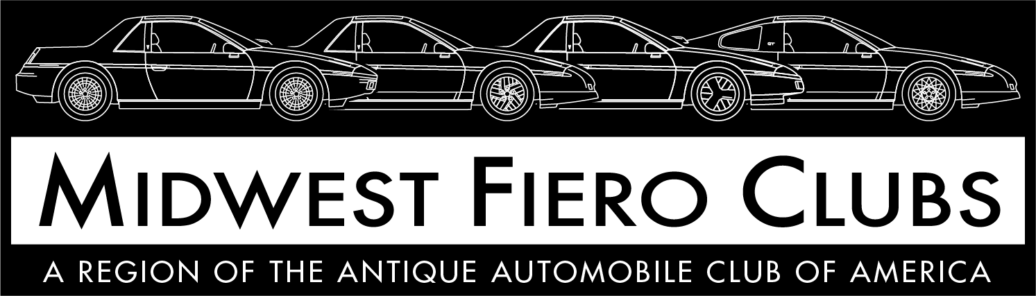 Midwest Fiero Clubs now a Region of the AACA