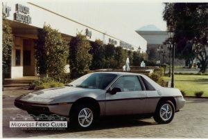 1984 Fiero Pilot Car 1