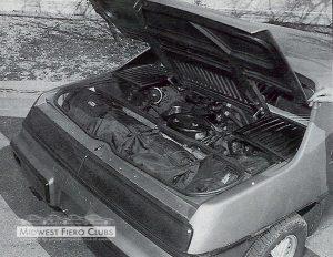 1984 Fiero Pilot Car 2