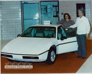 1984 Fiero Pilot Car 3